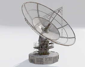 radio satelitte dish 3D model