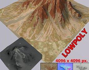 Lowpoly Mountain MT002 3D model