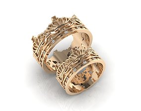 3D printable model Ring 84 wedding