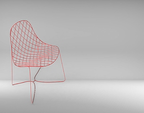 3D printable model Wire Chair