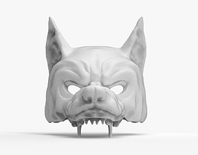 Woolf Mask Cap Werewolf 3D print model