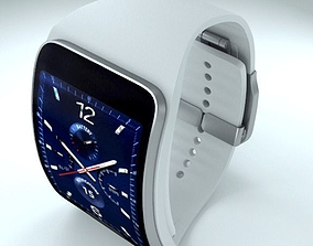 Samsung Gear S2 and Gear S 3D model