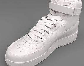 3D Air Force 1 Nike PBR