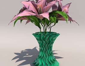 wavy vase stampa3d 3D print model