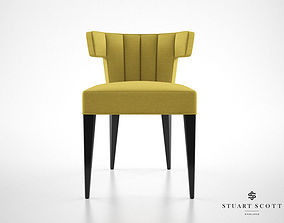 Stuart Scott Isabella dining chair 3D