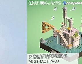 3D asset PolyWorks Abstract Pack