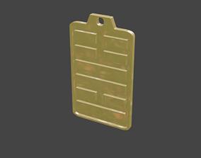 3D printable model rgd feng hexagram pendant
