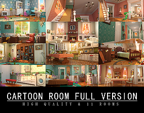 3D Cartoon Room Interior Full Version