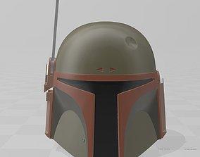 Star Wars Boba Fett Helmet Return of 3D printable model 3