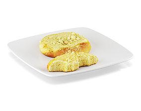 Sweet rolls 1 3D model