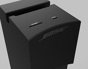 3D model Bose Speaker