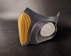 Respirator - Breathing Mask With HEPA 3D print model