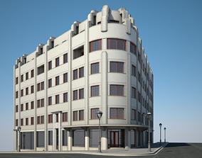 3D Apartment Building 10 architecture
