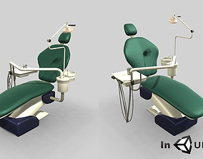 Animated Dental Chair 3dsmax animated