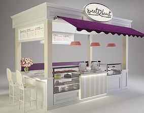 Sweetheart Cake Booth 3D model