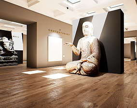 Art Gallery UE4 009 3D