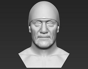 Hulk Hogan bust 3D printing ready stl obj