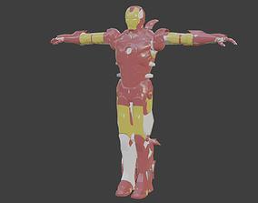Iron Man Suit 3D model