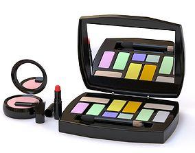 Makeup Set 3D model VR / AR ready
