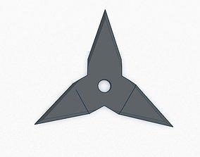 3D print model Ninja Star v3 - 3 Point