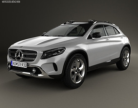 3D model Mercedes-Benz GLA-class concept 2013