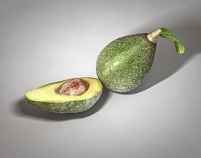 Avocado 3D model realtime