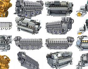 Propulsion Engine 3D Models