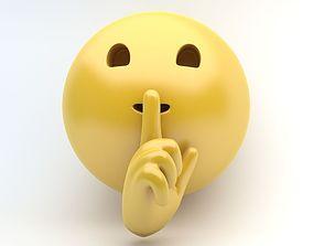 EMOJI SILENCE 3D asset