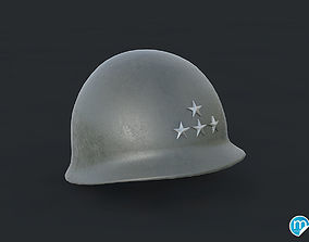 M1 helmet - Patton army 3D model