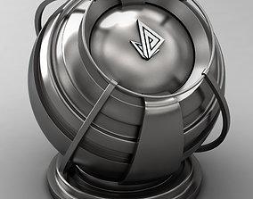 3D model VRAY SHADER---METAL---Vanadium Hydride