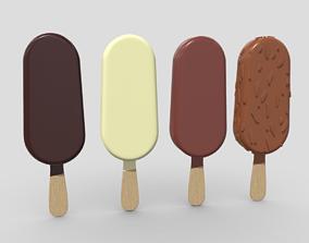 3D asset Popsicle Pack