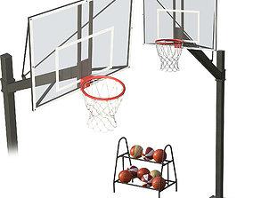 3D model sports Basketball Hoop