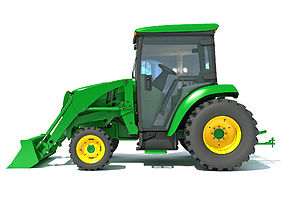 equipment 3D Compact Utility Tractor