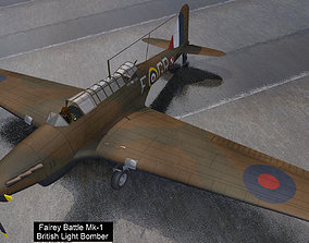 Fairey Battle Mk-1 3D british