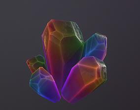 1 Mineral fantasy style v3 3D asset
