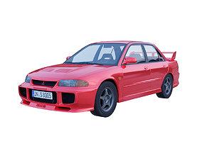 Mitsubishi Lancer Evolution Iii 3D model