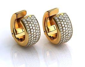 3D printable model Earrings BS051