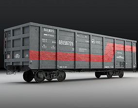 Railway carriage 3D