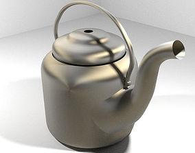 Vintage Kitchenware - Kettle 3D
