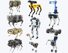 Boston Dynamics Robots Collection 3D asset