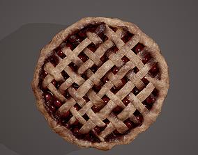 Medieval Style Cherry Pie 3D model
