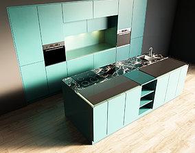 3D model 87-Kitchen3 matte 8