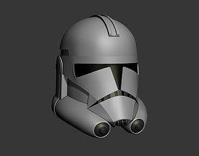 3D print model Phase 2 Clone Wars Series Cosplay Helmet