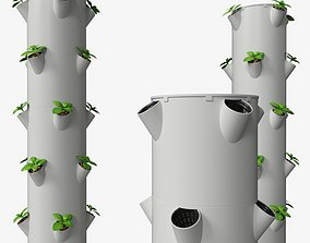 3D Aeroponics tower aeroponics