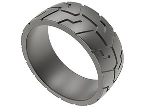Men Ring Wheel TireTread 3D printable model