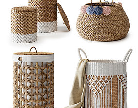 3D Baskets Set 03