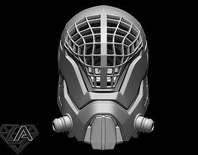 3D print model Mass effect custom Helmet