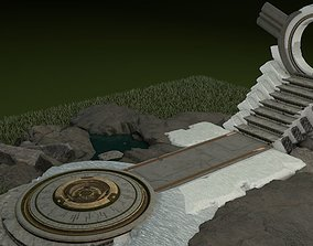 4d 3D Elven-Altar - Elfen-Altar
