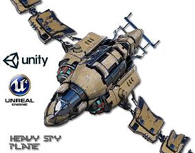 3D model Heavy Spy Plane