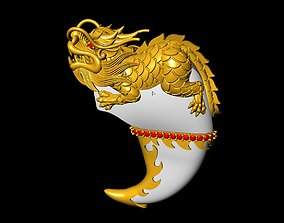 Dragon Fang 3D print model